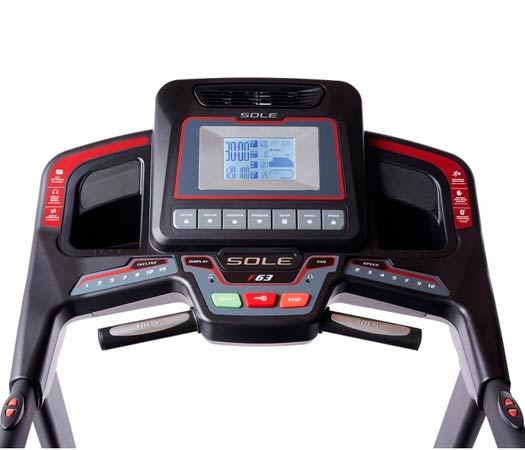 Consola cinta correr Sole Fitness F63